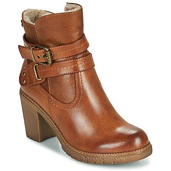 Sapatos Mulher Botins Refresh 78969 Camel