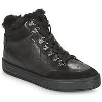 Sapatos Mulher Botas baixas Geox LEELU Preto