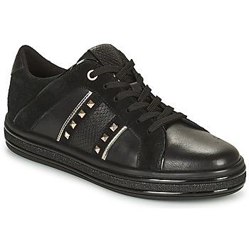 Sapatos Mulher Sapatilhas Geox LEELU Preto