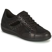 Sapatos Mulher Sapatilhas Geox MYRIA Preto