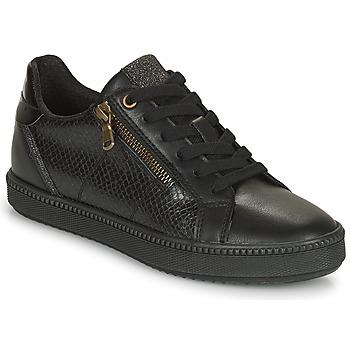 Sapatos Mulher Sapatilhas Geox BLOMIEE Preto