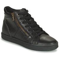 Sapatos Mulher Sapatilhas de cano-alto Geox BLOMIEE Preto