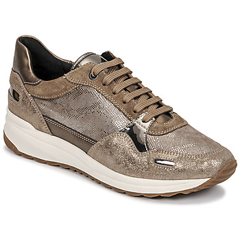 Sapatos Mulher Sapatilhas Geox AIRELL Ouro