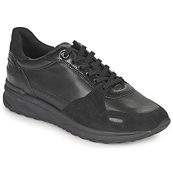 Sapatos Mulher Sapatilhas Geox AIRELL Preto