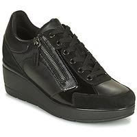 Sapatos Mulher Sapatilhas Geox ILDE Preto