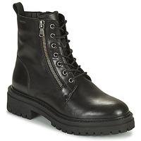 Sapatos Mulher Botins Geox IRIDEA Preto