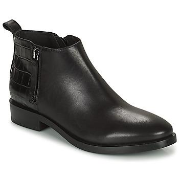 Sapatos Mulher Botins Geox BROGUE Preto