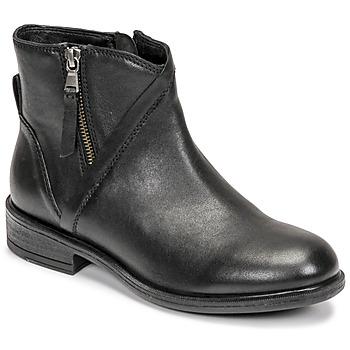 Sapatos Mulher Botins Geox CATRIA Preto