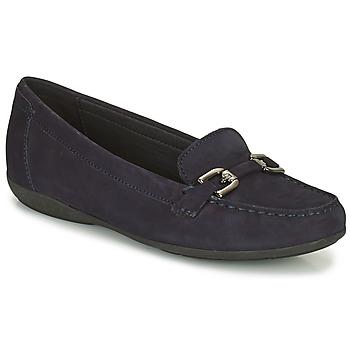 Sapatos Mulher Mocassins Geox ANNYTAH Marinho