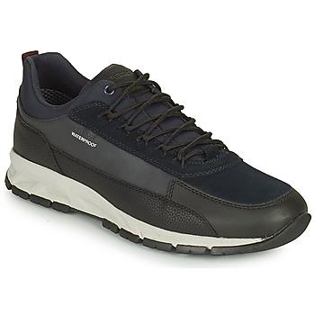 Sapatos Homem Sapatilhas Geox DELRAY WPF Marinho / Preto