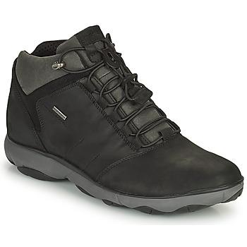 Sapatos Homem Botas baixas Geox NEBULA Preto