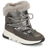 Sapatos Mulher Botas de neve Geox FALENA ABX Cinza