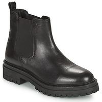 Sapatos Mulher Botas baixas Geox IRIDEA Preto