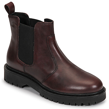 Sapatos Mulher Botas baixas Geox BLEYZE Bordô