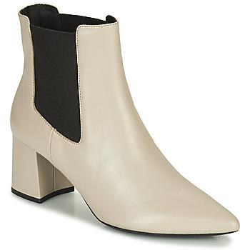 Sapatos Mulher Botins Geox BIGLIANA Bege