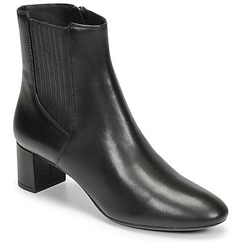 Sapatos Mulher Botins Geox PHEBY 50 Preto