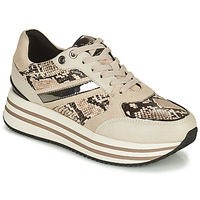 Sapatos Mulher Sapatilhas Geox KENCY Bege