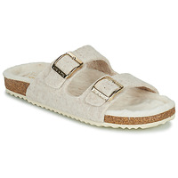 Sapatos Mulher Chinelos Geox BRIONIA Bege