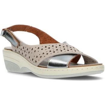 Sapatos Mulher Sandálias Interbios SANDALS  3023 AÇO