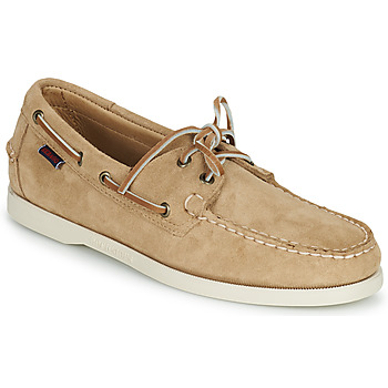 Sapatos Homem Sapato de vela Sebago PORTLAND FLESH OUT Bege