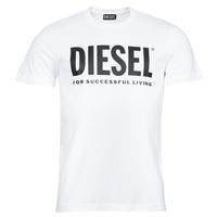 Textil Homem T-Shirt mangas curtas Diesel T-DIEGOS-ECOLOGO Branco