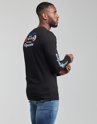 Textil Homem T-shirt mangas compridas Diesel T-DIEGOS-LS-K25 Preto