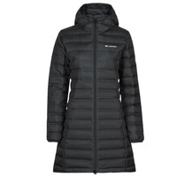 Textil Mulher Quispos Columbia LAKE DOWN LONG HOODED JACKET Preto