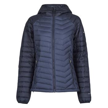 Textil Mulher Quispos Columbia POWDER LITE HOODED JACKET Marinho / Preto