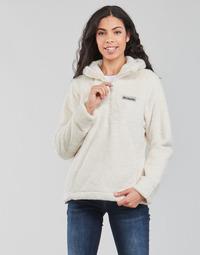 Textil Mulher Casaco polar Columbia BUNDLE UP HOODED PULLOVER Branco
