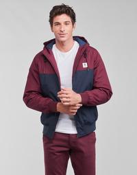 Textil Homem Jaquetas Element DULCEY TWO TONES Bordô