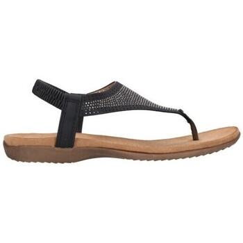 Sapatos Mulher Sandálias Amaspies AMARPIES ABZ19081 Mujer Negro noir