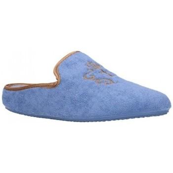 Sapatos Mulher Chinelos Norteñas 9-35-23 Mujer Celeste bleu