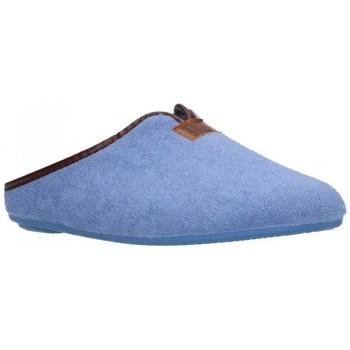 Sapatos Mulher Chinelos Norteñas 9-191 Mujer Celeste bleu