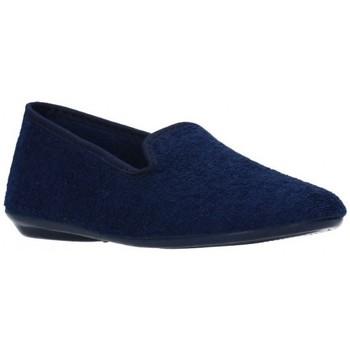 Sapatos Rapaz Chinelos Norteñas 9-980 Niño Azul marino bleu