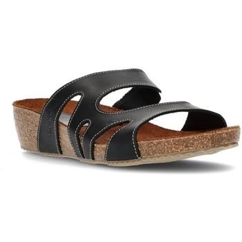 Sapatos Mulher Chinelos Interbios W PRETO