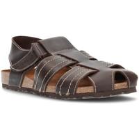 Sapatos Homem Sandálias Interbios fechada sandálias MOKA