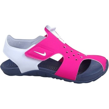 Sapatos Rapariga Sandálias Nike Sunray Protect 2 Branco, Cor-de-rosa