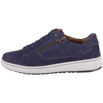 Sapatos Homem Sapatos Josef Seibel David 07 Branco, Azul marinho
