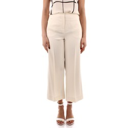 Textil Mulher Calças Marella GRACE Branco
