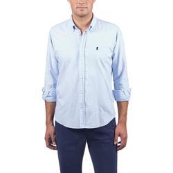 Textil Homem Camisas mangas comprida Elpulpo  Azul