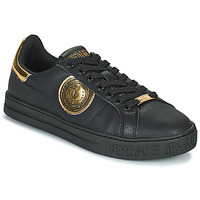 Sapatos Homem Sapatilhas Versace Jeans Couture REMI Preto