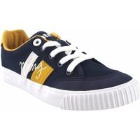 Sapatos Rapaz Multi-desportos MTNG Canvas boy MUSTANG KIDS 48190 azul Branco