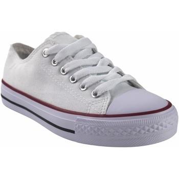 Sapatos Mulher Multi-desportos Bienve Lona senhora  ca01 branco Branco