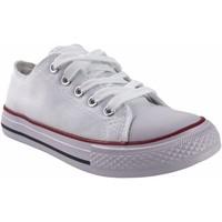 Sapatos Rapariga Multi-desportos Bienve Tela infantil  abx063 branco Branco