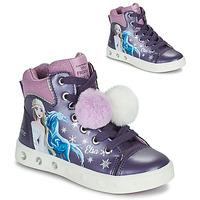 Sapatos Rapariga Sapatilhas de cano-alto Geox SKYLIN Violeta