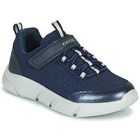 Sapatos Rapariga Sapatilhas Geox ARIL Azul