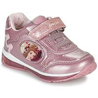 Sapatos Rapariga Sapatilhas Geox TODO Rosa