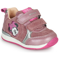 Sapatos Rapariga Sapatilhas Geox RISHO Rosa