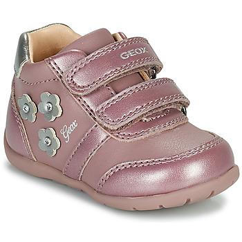 Sapatos Rapariga Sapatilhas Geox ELTHAN Rosa