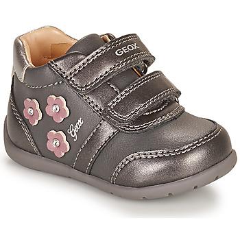 Sapatos Rapariga Sapatilhas Geox ELTHAN Cinza